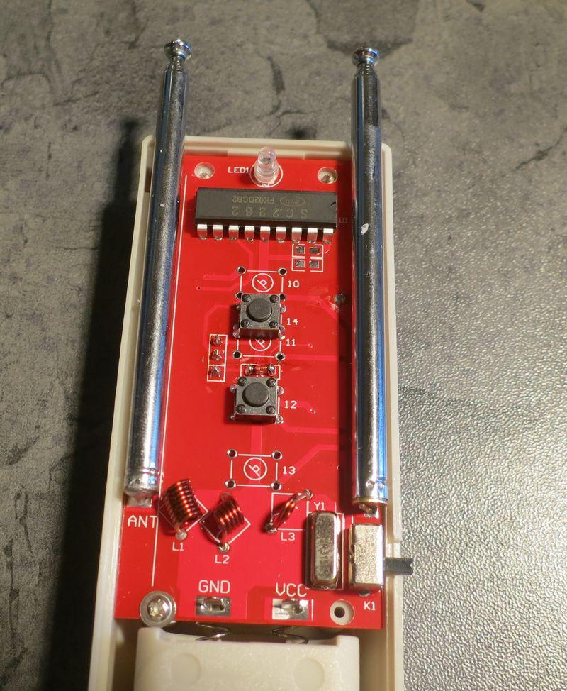 Circuit imprimé du brouilleur