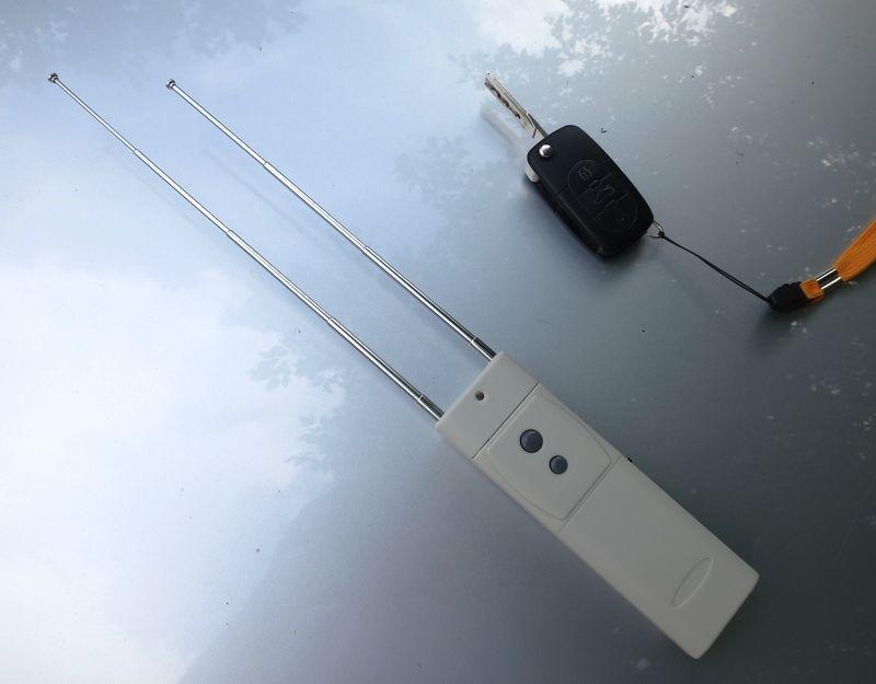 Vue du brouilleur, antennes déployées