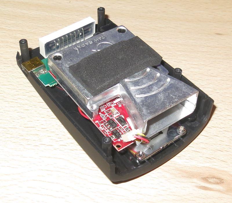 Détecteur V7 démonté, coté détecteur