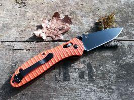 Review du couteau pliant Ganzo G739