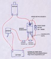Schéma de câblage du MOSFET