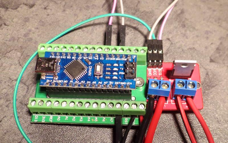 Testeur d'injecteurs Arduino