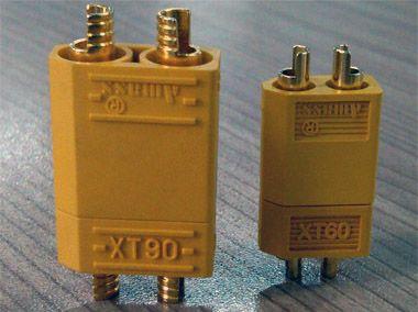 Comparatif XT60 et XT90