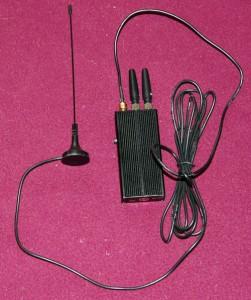 Brouilleur et antenne déportée