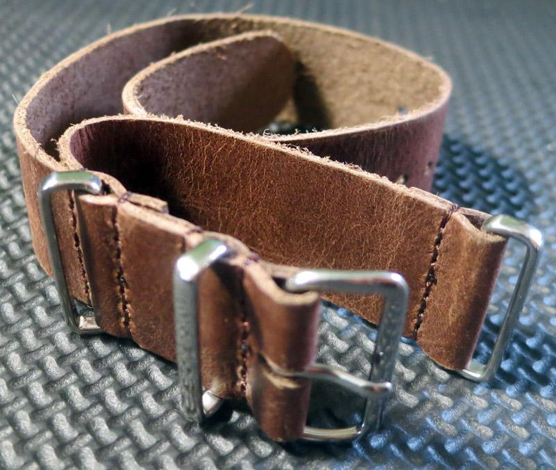 Bracelet Nato Cuir