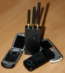 Brouilleur et téléphones mobiles