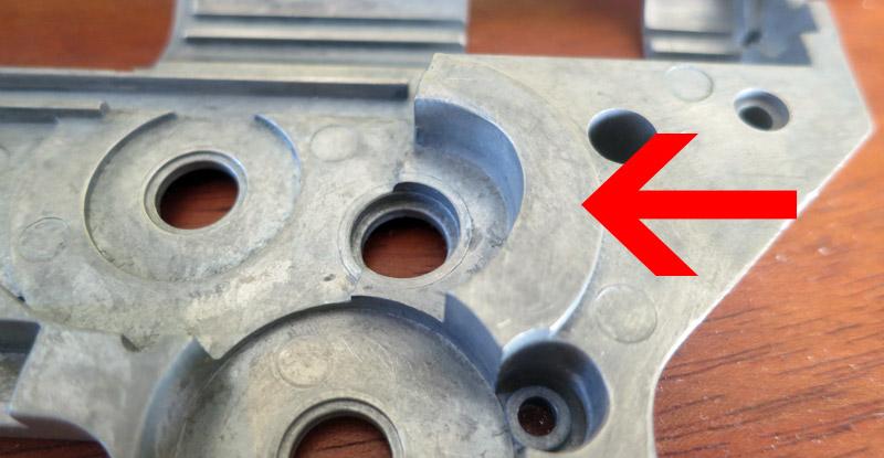 Modification de la gearbox