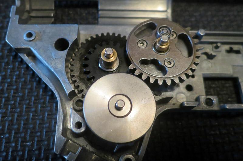 Engrenages Hi-Speed dans la gearbox renforcée